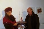 Gabriella-con-il-marito-all'Inaugurazione-mostra-Les-Rencontres-Venezia-2012
