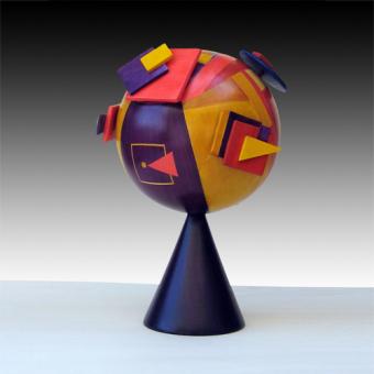 Geometrie volanti viola (2009)