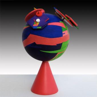 Geometrie volanti rosa (2009)